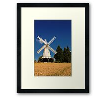Woodchurch Windmill Framed Print