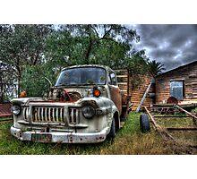 rust bucket Photographic Print