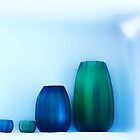 Crystal Blue and Green by Angelika  Vogel