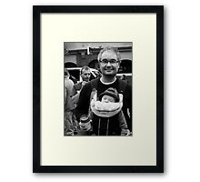 Anarchist and Baby Framed Print