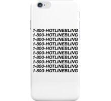 1-800-HOTLINEBLING | Best Quality | Black iPhone Case/Skin