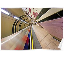 London Underground Colors Poster