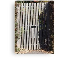 Letter box at # 24 Canvas Print
