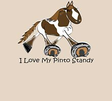 I Love My Standardbred Pinto Womens Fitted T-Shirt