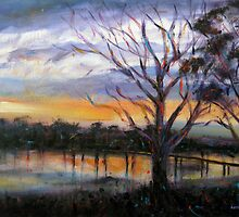 Sunrise Laverton Creek by Karin Zeller
