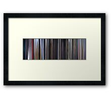 Moviebarcode: Superman (1978) Framed Print