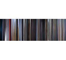 Moviebarcode: Superman (1978) Photographic Print