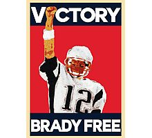 Tom Brady Suspension Vacated - Victory Brady is Free Photographic Print