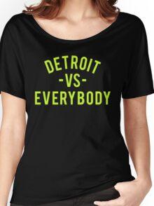 Detroit VS Everybody | Volt Women's Relaxed Fit T-Shirt