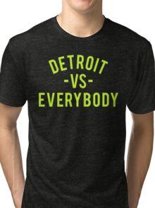 Detroit VS Everybody | Volt Tri-blend T-Shirt