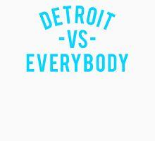 Detroit VS Everybody   Cyan Unisex T-Shirt