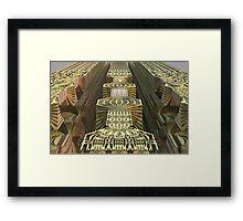 The Alien skyscraper 2 Framed Print