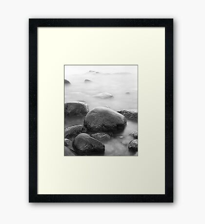 Coast 6 Framed Print