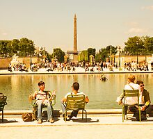 Paris Summer, Paris by Clint Burkinshaw