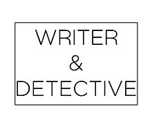 Writer & Detective by StephJp