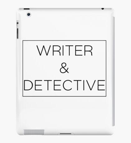 Writer & Detective iPad Case/Skin