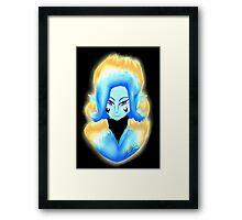 Flame Demon Framed Print