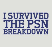 I survived the psn breakdown by Alessandro Arcidiacono