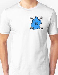 Brooklyn Hipster [Blue] Unisex T-Shirt