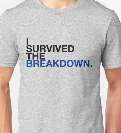 i survived the breakdown (II) Unisex T-Shirt