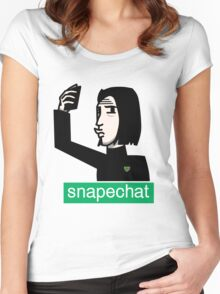 Snapechat Women's Fitted Scoop T-Shirt