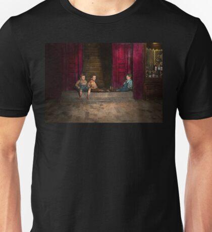 Kids - Boston MA - Jest hanging around 1909 Unisex T-Shirt