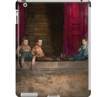 Kids - Boston MA - Jest hanging around 1909 iPad Case/Skin