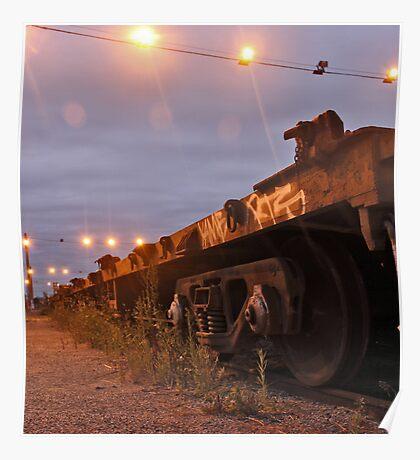 Train Car - Tottenham, Melbourne Poster