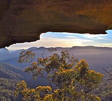 Sandstone Wilderness. by Warren  Patten