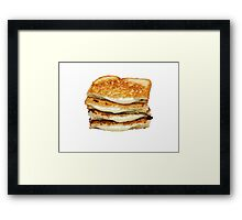 Grilled Cheese Framed Print