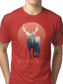 Forest Ravenstag Tri-blend T-Shirt
