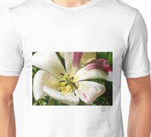 White Bloom Unisex T-Shirt