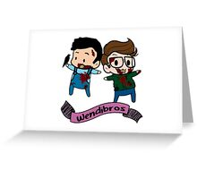 wendibros Greeting Card