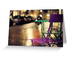 _Rainy Night_ Greeting Card