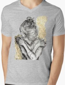 Embrace Mens V-Neck T-Shirt