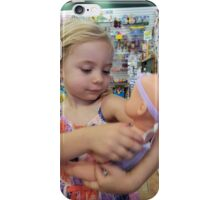 Loves Her New Doll iPhone Case/Skin