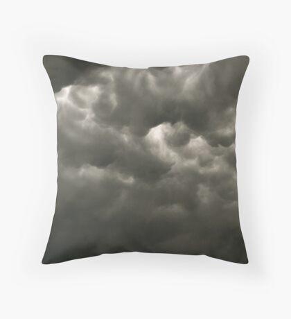 Dark Clouds Throw Pillow