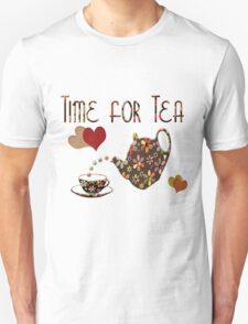 Time for Tea Tee Unisex T-Shirt