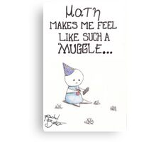 Math for Muggles Canvas Print