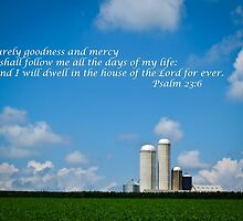 Psalm 23:6 Goodness and Mercy by KellyHeaton