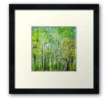 Little Flowering Trees Framed Print