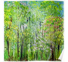 Little Flowering Trees Poster