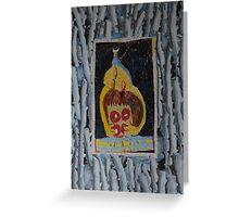 Doughnuts - Abstract Outsider Art Greeting Card