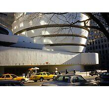 The Solomon R. Guggenheim Museum Photographic Print