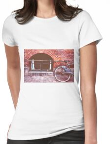 Bicycle in Copenhagen Womens Fitted T-Shirt