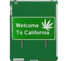 High, welcome to California iPad Case/Skin