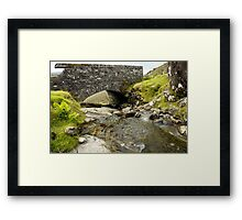 Bridging the Gap Framed Print
