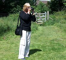 Me...............The Photographer ? by lynn carter
