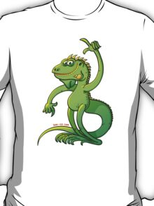 Green Iguana Giving an Idea T-Shirt
