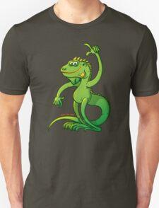 Green Iguana Giving an Idea T-Shirt